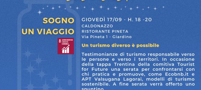 Conversazioni sul turismo sostenibile… aspettando la fiera Fa' la Cosa Giusta!