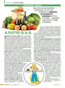 Articolo Caldonazzese GAS 12-2014