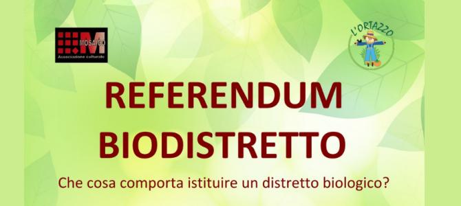 Referendum biodistretto: di cosa si tratta?