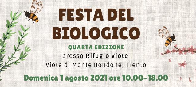 Festa del Biologico – Viote di Monte Bondone, domenica la quarta edizione
