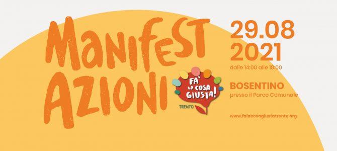 ManifestAzioni Fa' la cosa giusta! – 29 agosto a Bosentino