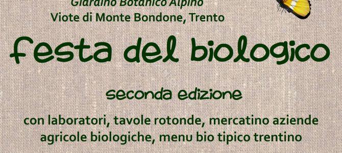 Festa del biologico alle Viote di Monte Bondone