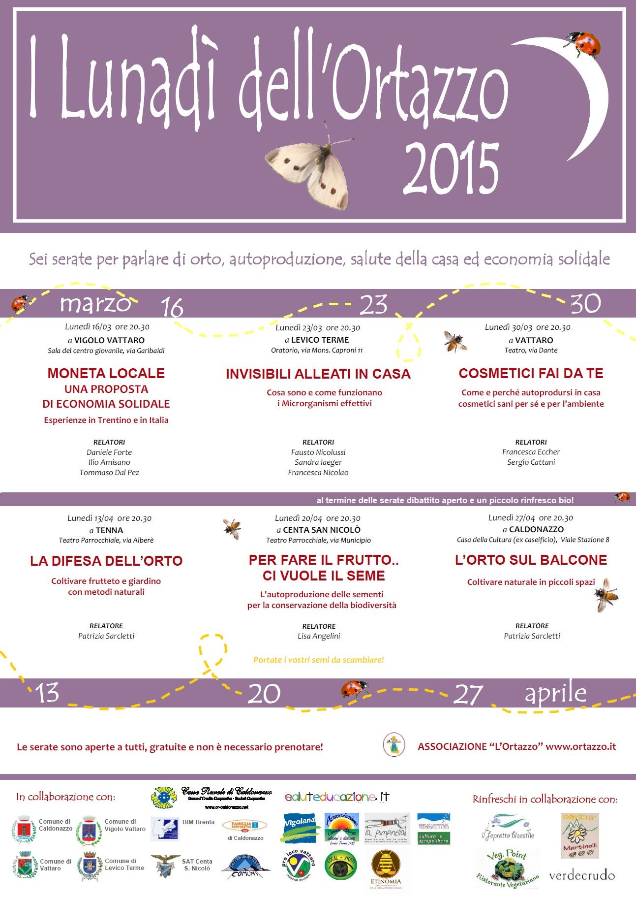 Locandina Lunadì 2015
