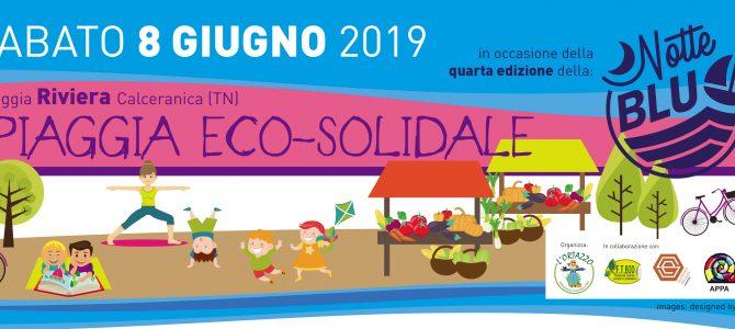Spiaggia eco-solidale 8 giugno sul lago di Caldonazzo